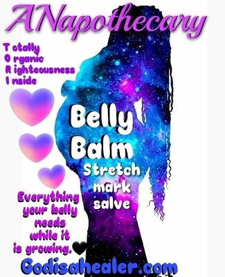 Belly Balm Stretchmark Salve 2 oz