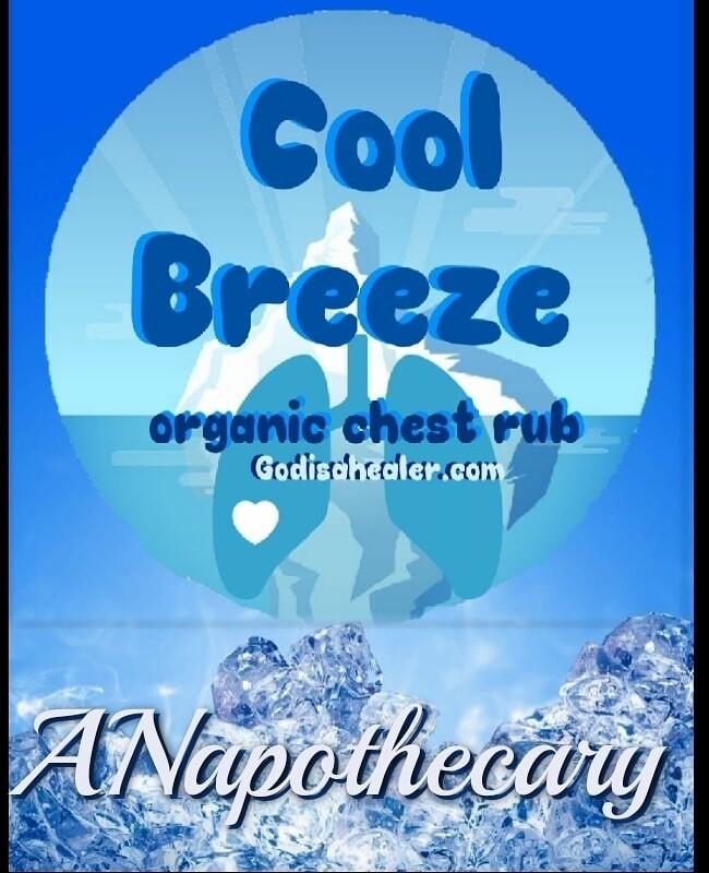 Cool Breeze Ol School CBD Chest  Rub 2 oz