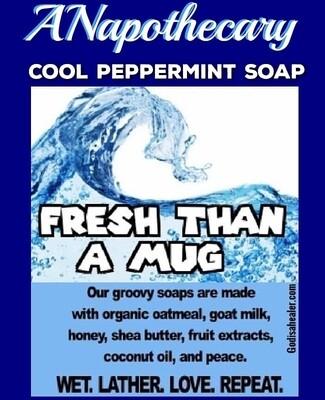 Fresh Than A Mug Peppermint Soap