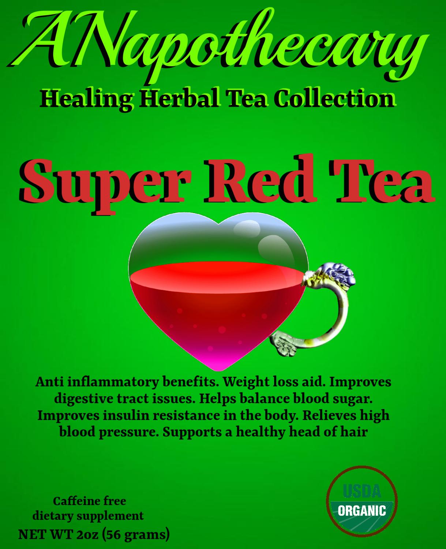 Super Red Tea One Gallon Tea bag