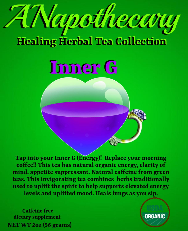(Inner G Tea)  One Gallon Tea bag