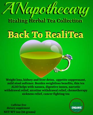Back To RealiTea Detox One Gallon Tea bag