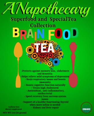 Brain Food Sample Tea Bag. One time only