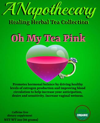 Oh My Tea Pink One Gallon Tea bag