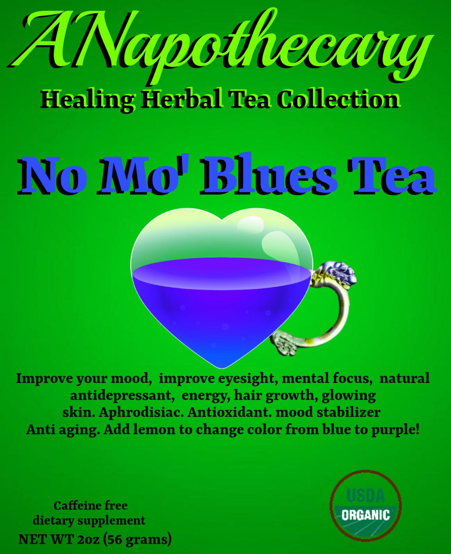No Mo' Blues One Gallon Tea bag