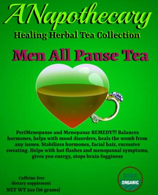 The Men All Pause One Gallon Tea bag