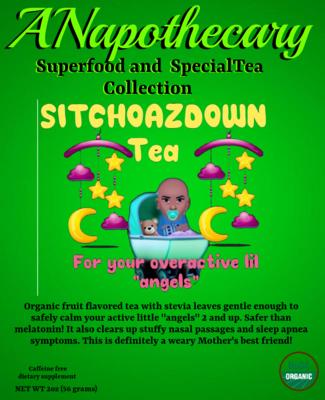(SITCHOAZDOWN Tea) One Gallon Teabag.