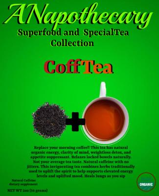 CoffTea Kuerig (10 Kuerig cups)
