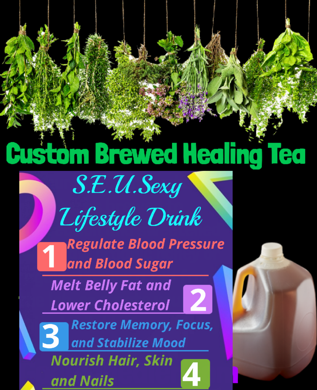Custom Brewed S.E.U.S Sexy Tea Brew Preorder 1 Gallon Next Day Pickup