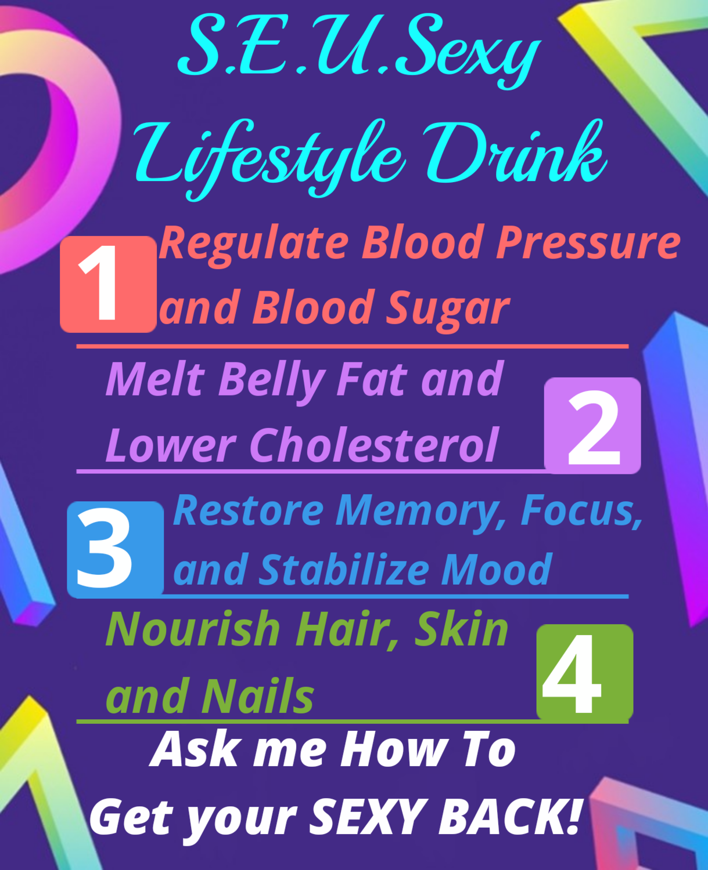 S.E.U.Sexy Weightloss Detox Energy 10 Keurig cups (Women)