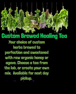 Custom Healing Herbs Tea Brew Half Gallon Next Day Pickup