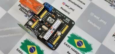 Walduininho V2 - Arduino Compatível com microcontrolador Atmega 328 e entrada para modulo Bluetooth  *** Atenção - Não acompanha modulo bluetooth e modulo USB ***