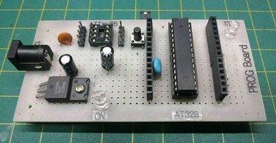 PROG-BOARD Arduino Standalone e shield gravador de bootloader (DIY)  e programador via ICSP para Atmega e Attiny85