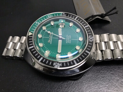 Bulova Oceanographer Devil Diver Green Automatic