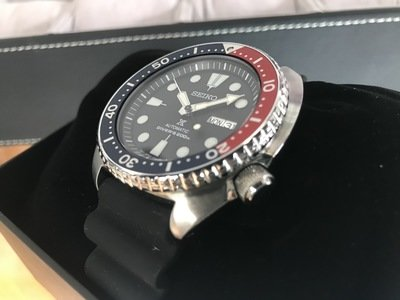 Seiko 4R36 Turtle diver watch
