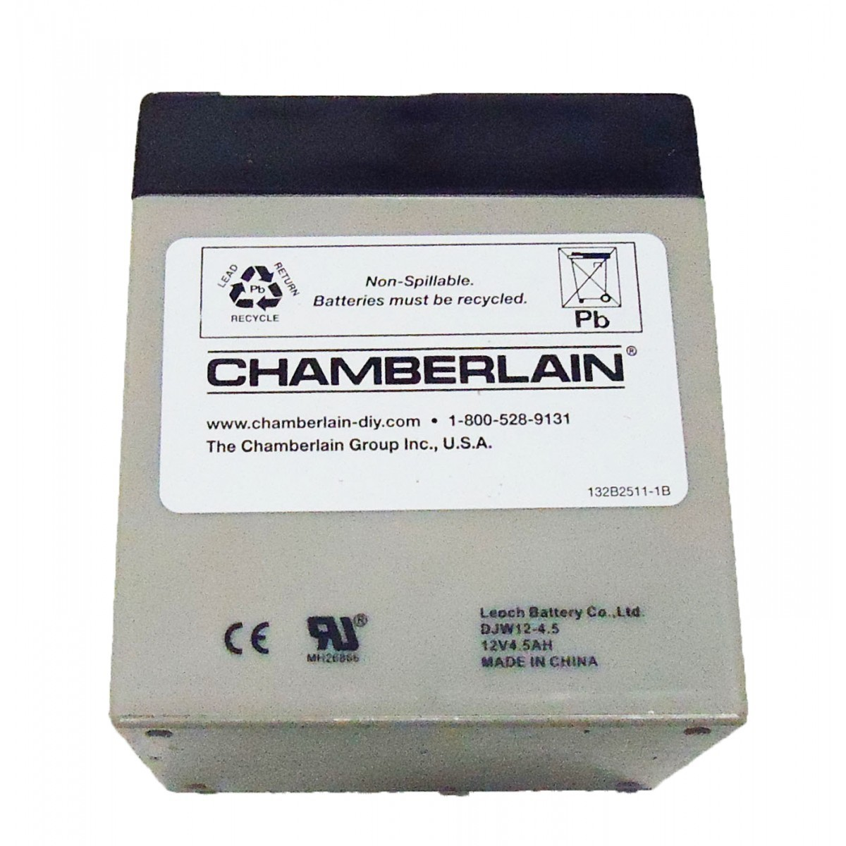 41A6357-1 Chamberlain 12v Battery Backup, 485LM