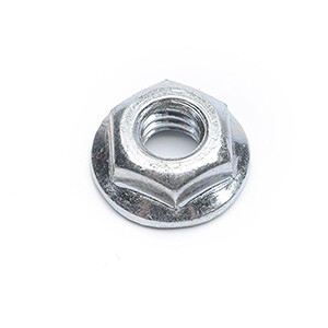 HEX SERRATED FLANGE NUT 1/4-20