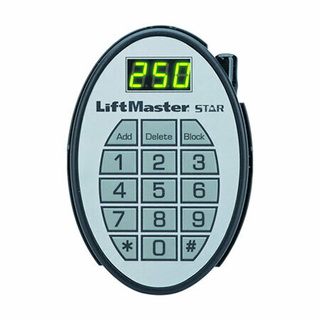 Star250 LiftMaster Receiver Frequency 390MHz