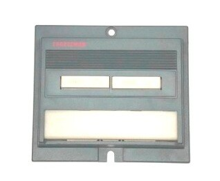 Sears Craftsman Wall Control Panel, 41A4086A
