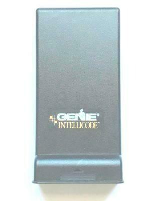 Genie Black Sliding Keypad Cover, With Gold Genie Intellicode Logo