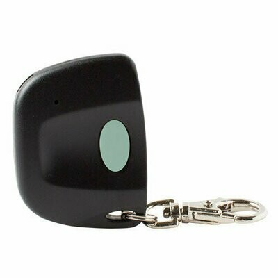 Genie Compatible 12 Switch One Button Key Chain Remote, 390MHz
