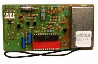 25648R Genie Internal Receiver Circuit Board