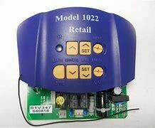 Genie CIRCUIT BOARD (1022) Blue 37028G, 37028G.S