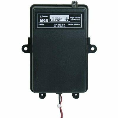 MGR Linear One Channel Rolling Code Receiver, DNR00104
