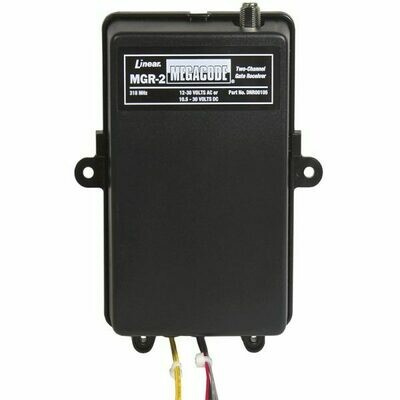 MGR-2 Linear Two Channel Rolling Code Receiver, DNR00105