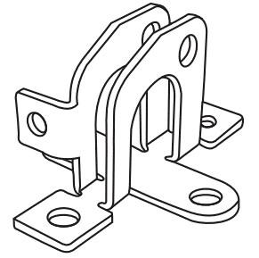803074CPK Marantec Door Bracket with Clevis Pin