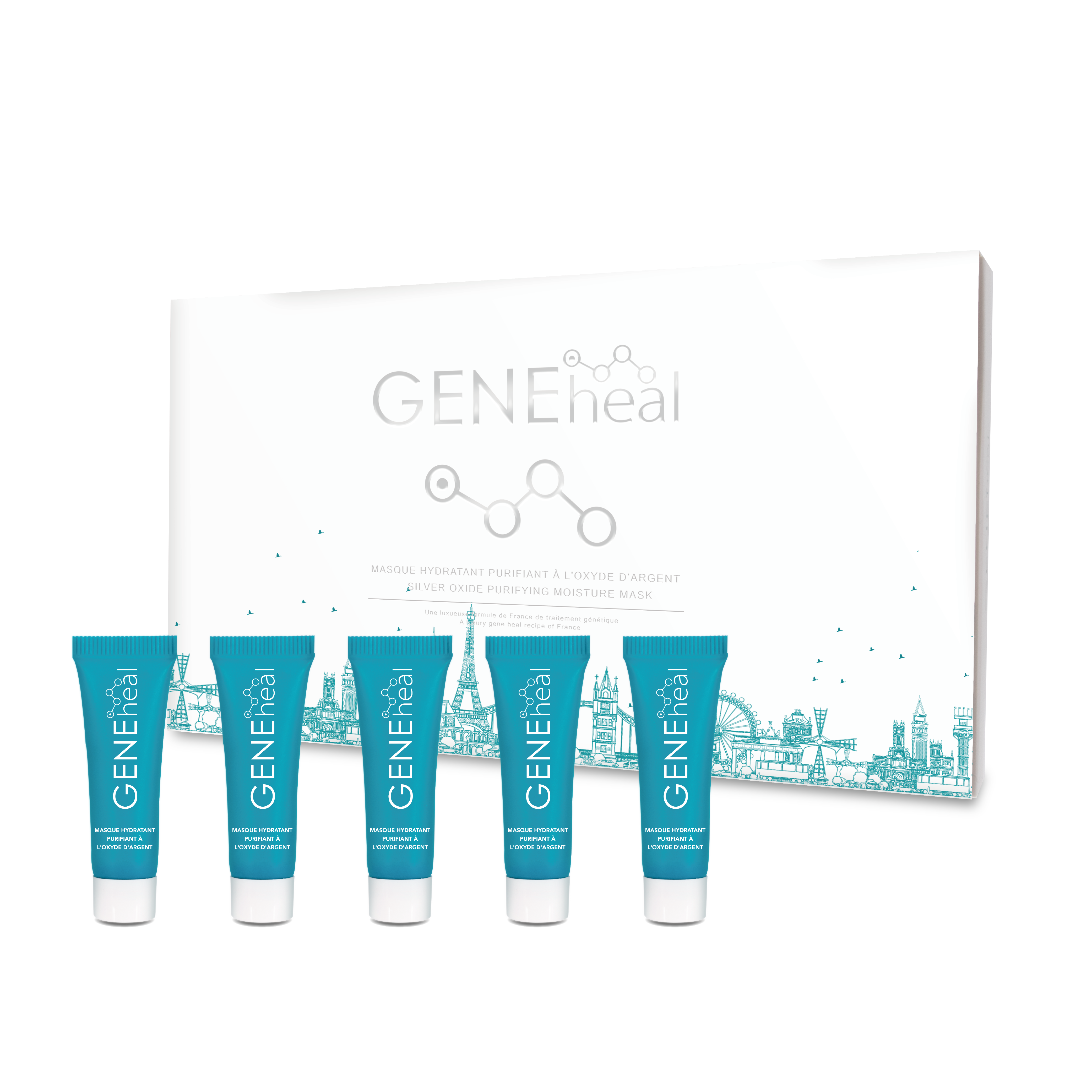 GENEliftox 100 - 氧化銀淨顏面膜(旅行裝) GH-G-19-060