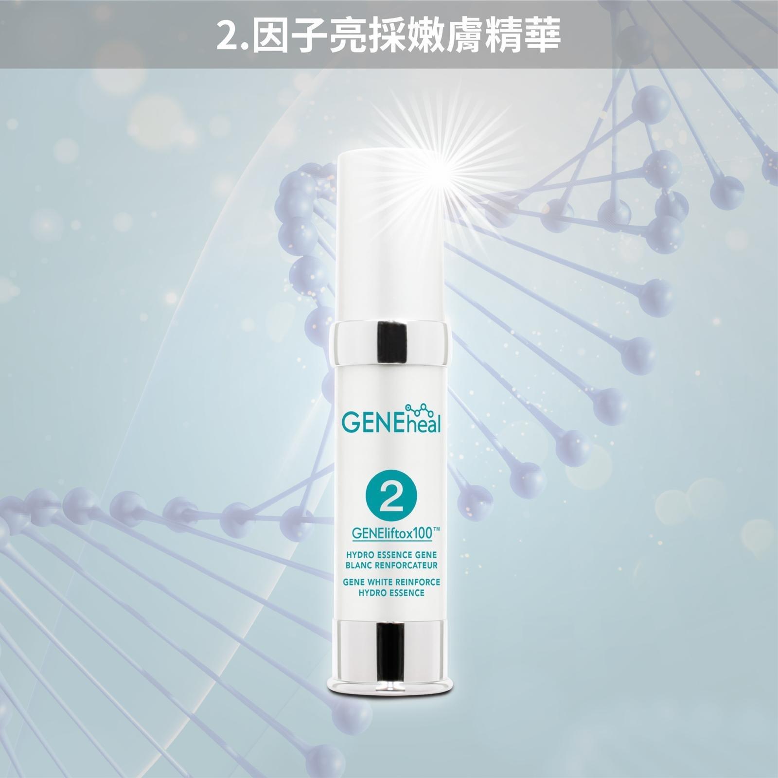 GENEheal 三週奇蹟「加強・升級・亮澤青春方案」《Roseann 愛心推介》