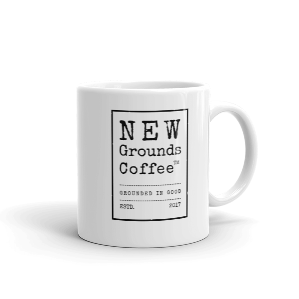 NEW Grounds Coffee Mug