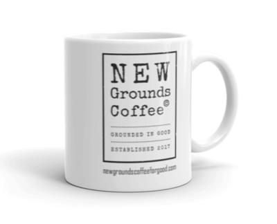 NEW Grounds Coffee Mug