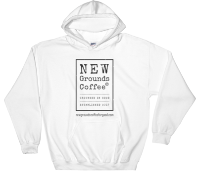 NEW Grounds Hoodie - White