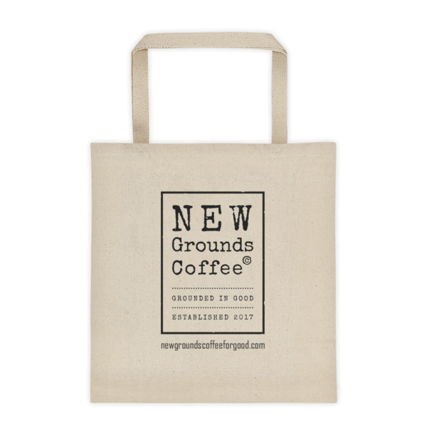 NEW Grounds Tote bag
