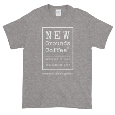 NEW Grounds T-Shirt - Heather Gray