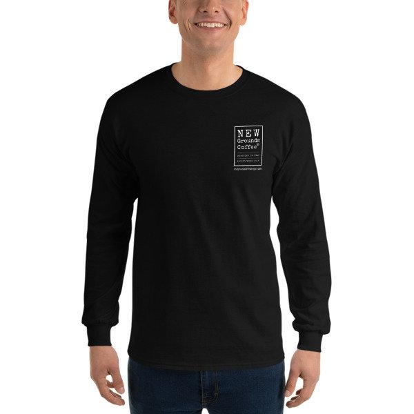 NEW Grounds Long Sleeve T-Shirt - Black (unisex)