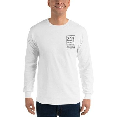 NEW Grounds Long Sleeve T-Shirt - White (unisex)