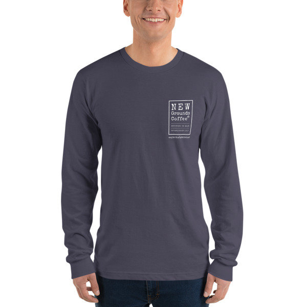 NEW Ground Long sleeve t-shirt - Gray (unisex)