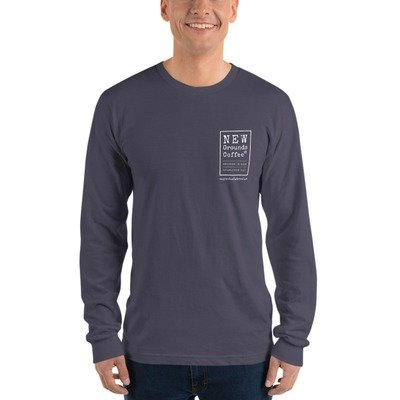 NEW Ground Long sleeve t-shirt - Gray (unisex)