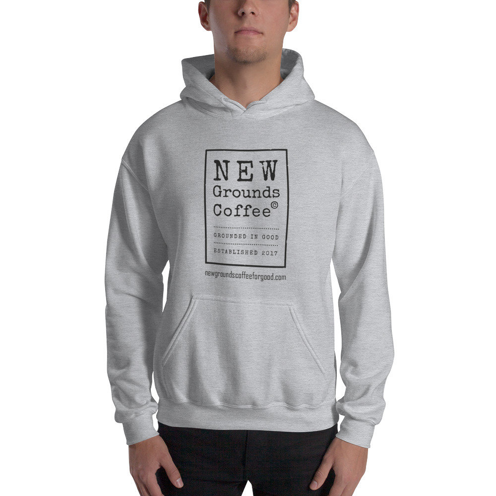 NEW Grounds Hoodie - Gray