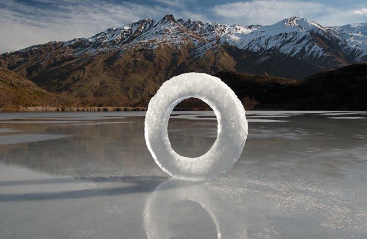 Diamond Lake Ice Circle