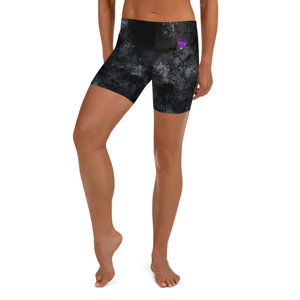 Purple Cerus logo Shorts