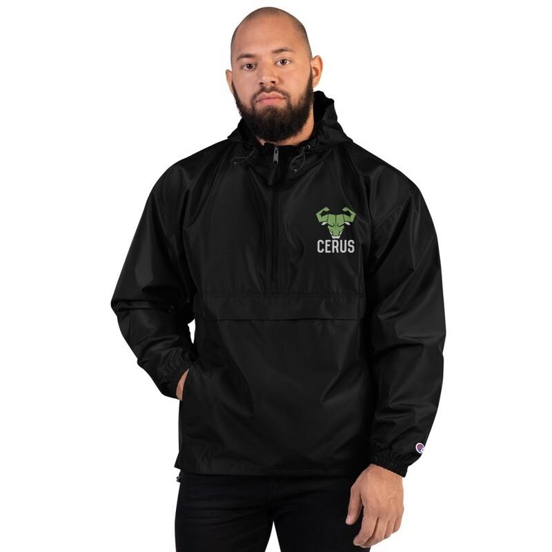 Embroidered Cerus Rain Jacket