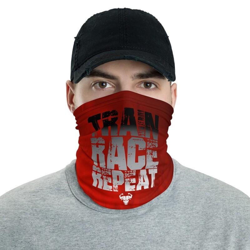 Train. Race. Repeat. Red Bandana