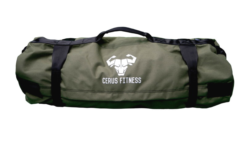 Cerus Fitness Sandbag Kit- Army Green