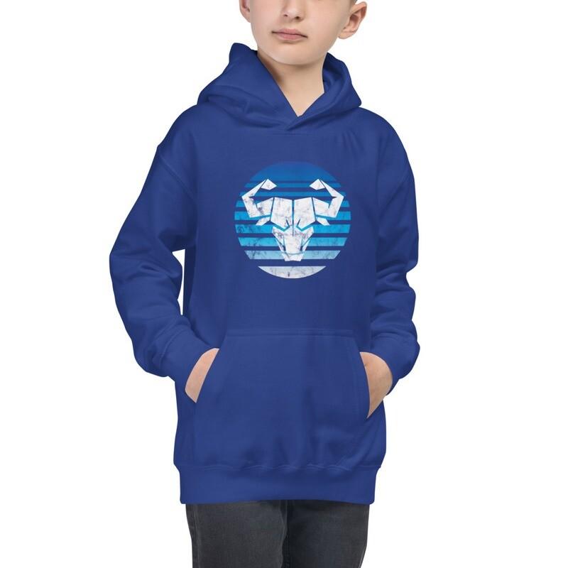 Kids Blue Ombre Hoodie