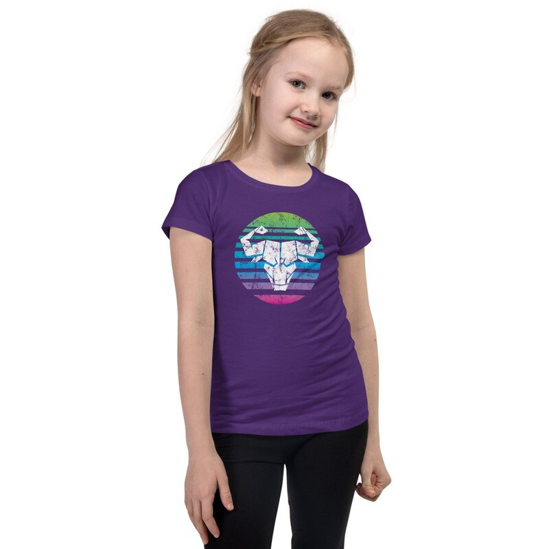 Girl's Rainbow Ombre T-Shirt