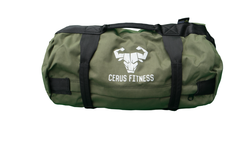 *New* Cerus Fitness MINI Sandbag Kit- Army Green